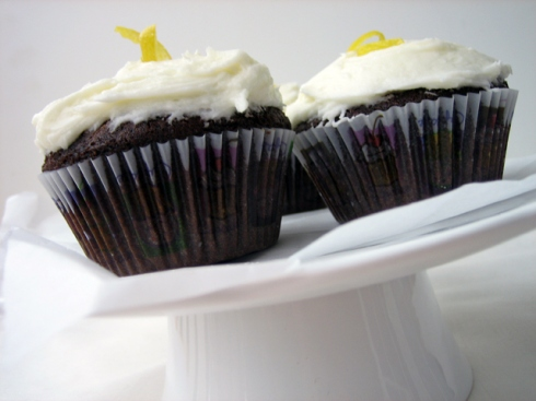 Molasses Cupcakes 